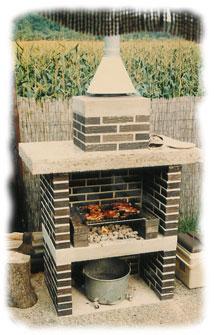 Bygging av grill til hagen.